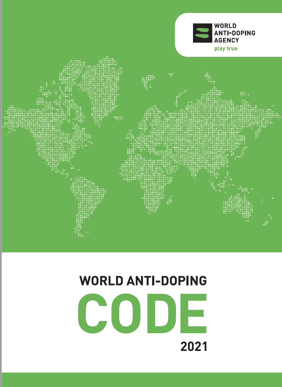 thumbnail of WADA Prohibited List 2020